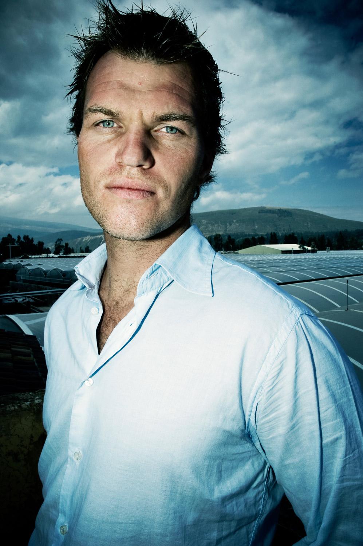 Peter van der Deijl . Ecuador . rose grower.